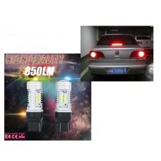 Светодиод К 12v T20/5 б/ц 21SMD 7443 Red арт. 7443
