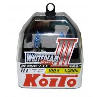 Галогенные лампы KOITO Whitebeam III комплект 2шт.