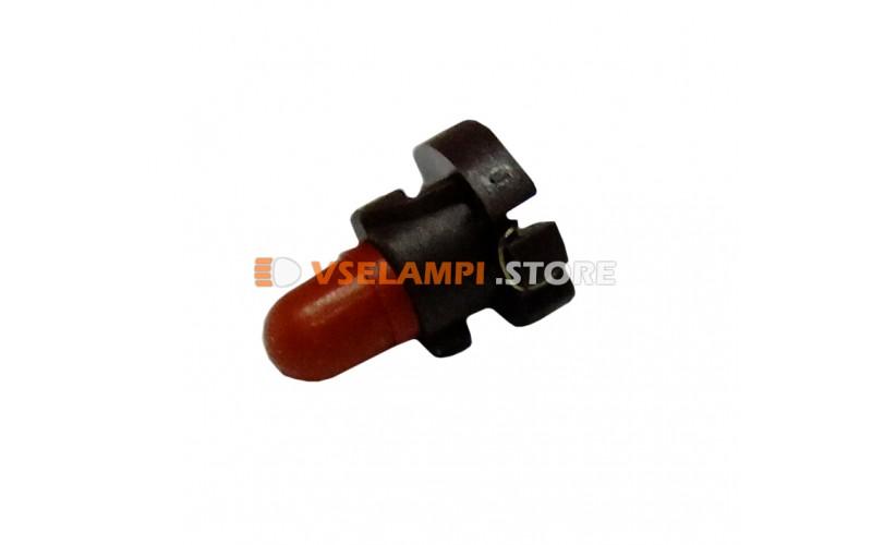 Лампа накаливания приборная KOITO T3, 14v, 60mA, цвет красный, 1шт - E1550