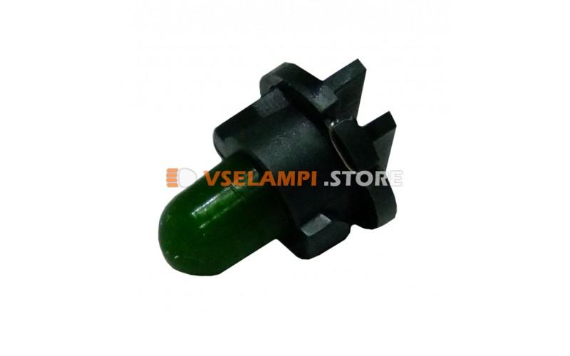 Лампа накаливания приборная KOITO T4.8, 14v, 80mA, цвет зелёный, 1шт - E1580