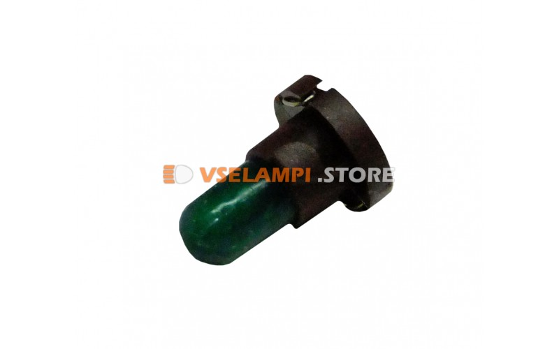 Лампа накаливания приборная KOITO T4.2, 14v, 50mA, цвет зелёный, 1шт - Е1531