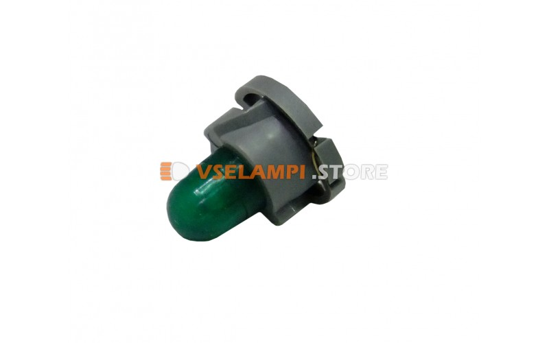 Лампа накаливания приборная KOITO T4.8, 14v, 100mA, цвет зелёный, 1шт - E1581