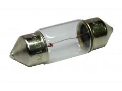 Авто-лампочка KOITO S8.5x8.5 Т10х31 (C5W), 31мм, 12v, 5w, желтый