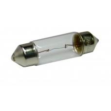 Авто-лампочка KOITO S8.5/8.5 T10x37 (C5W), 37мм, 12v, 5w, желтый