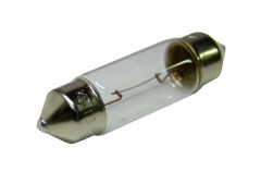 Авто-лампочка KOITO S8.5/8.5 T10x37, 37мм, 12v, 10w, желтый