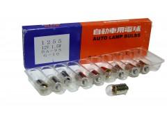 Авто-лампочка KOITO T10W (BA9s), 12v, 10w, желтый