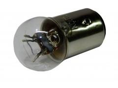 Авто-лампочка KOITO G18 R7/3.4W, 2 конт, 12v, 7/3.4w, желтый