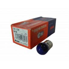 Галогенная лампа KOITO 12v 10w BA15s (blue) 3441B