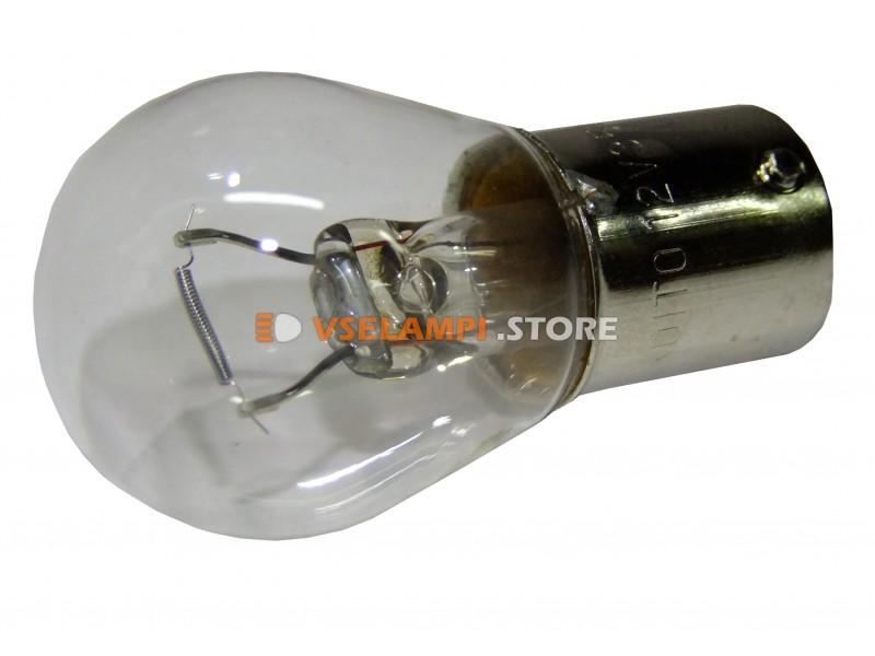 Лампа накаливания 1-контактная KOITO S25 (P35W), 12v, 35w, цвет желтый, 1шт - 4519