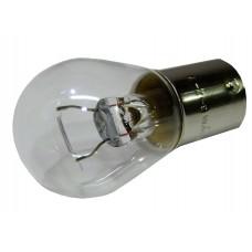 Авто-лампочка KOITO S25 P21W (BAY15d), 1 конт, 12v, 21w, желтый