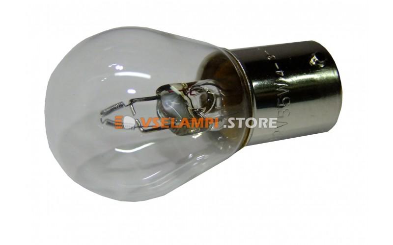 Лампа накаливания 1-контактная KOITO S25 (P55W), 12v, 55w, цвет желтый, 1шт - 5455