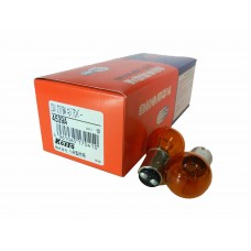 Авто-лампочка KOITO Amber PY27/8W, 2 конт, 12v, 27/8w, оранжевый