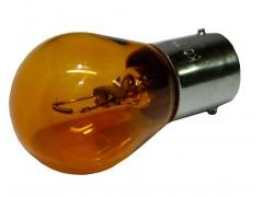Авто-лампочка KOITO S25 Amber PY27W, 1 конт, 12v, 27w, оранжевый