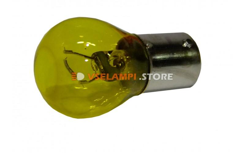 Лампа накаливания 1-контактная KOITO PY35W (BAY15s), 12v, 35w, цвет желтый, 1шт - 4578Y