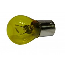 Авто-лампочка KOITO S25 (PY35W), 1 конт, 12v, 35w, желтая