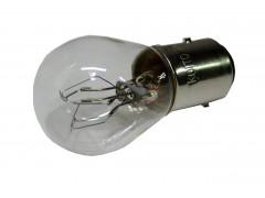 Авто-лампочка KOITO S25 P30/10W, 2 конт, 24v, 30/10w, желтый