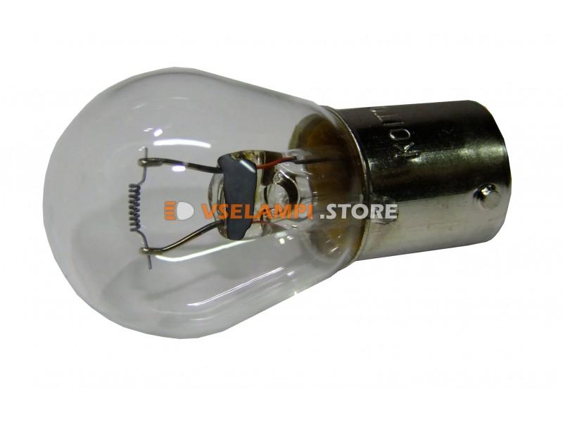 Лампа накаливания 1-контактная KOITO S25 P35W, 24v, 35w, цвет желтый, 1шт - 4619