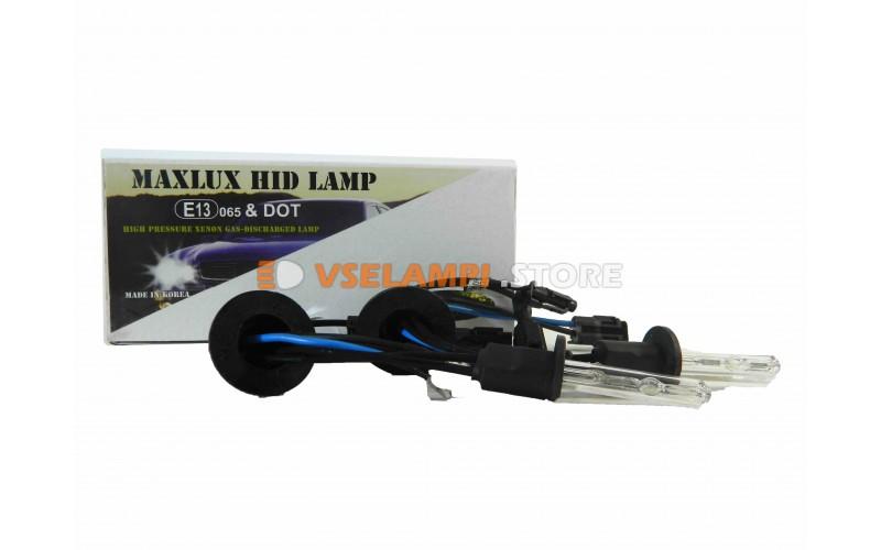 Ксеноновые лампы MAXLUX S 6000K комплект 2шт. - цоколь H1