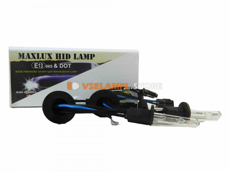 Ксеноновые лампы MAXLUX 6000K комплект 2шт.