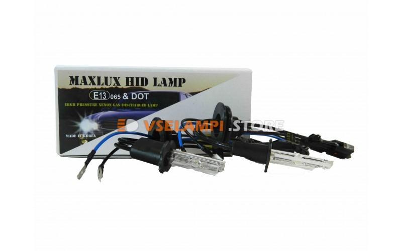 Ксеноновые лампы MAXLUX S 6000K комплект 2шт. - цоколь H3