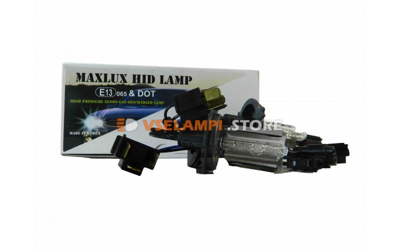 Ксеноновые лампы MAXLUX 4300K комплект 2шт. - цоколь H4