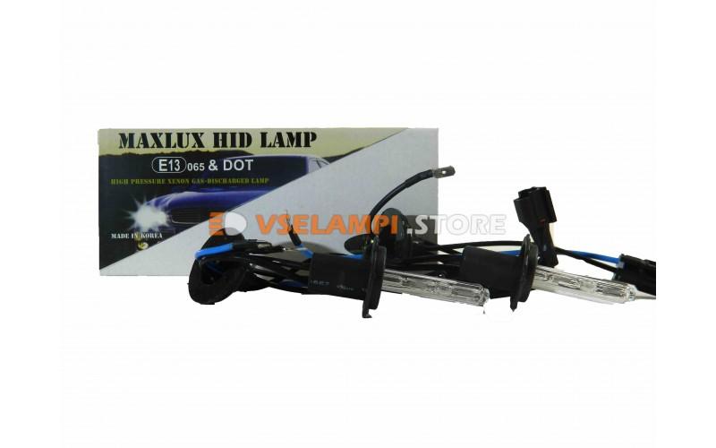 Ксеноновые лампы MAXLUX 6000K комплект 2шт. - цоколь H7