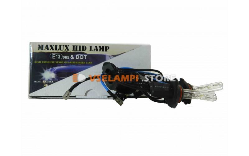 Ксеноновые лампы MAXLUX S 6000K комплект 2шт. - цоколь HB4
