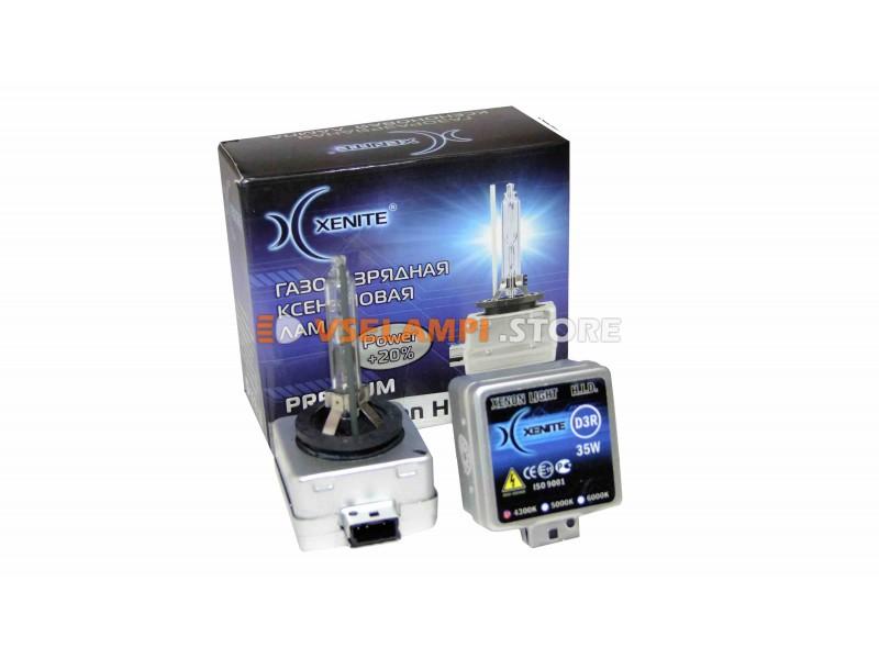 Ксеноновая лампа XENITE PREMIUM 5000К 1шт. - цоколь D3R