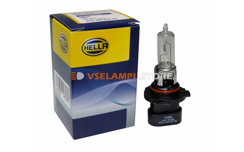Галогеновая авто-лампа Hella (HB3A, HB4A), 51w-60w, 12v, цвет желтый, 1шт.