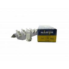 Галогенная лампа Narva BAX 24V-1.2W (B8.0-12) White (EBS-R 1.25 FR) 17103