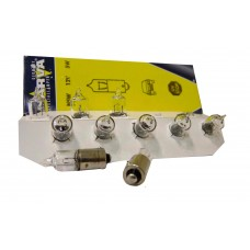 Авто-лампочка Narva H5W (BA9s), 1 конт, 12v, 5w, желтый