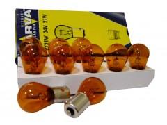 Авто-лампочка Narva Amber HD PY21W (BAU15s), 1 конт, 24v, 21w, оранжевый