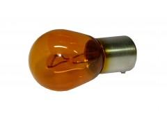 Авто-лампочка OSRAM PY 21w 12v (21w) BAU15s желтый 7507 (оранжевый)