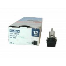 Галогенная лампа OSRAM 12v (5w) B10d пластмассовый патрон 64124MF (галоген)