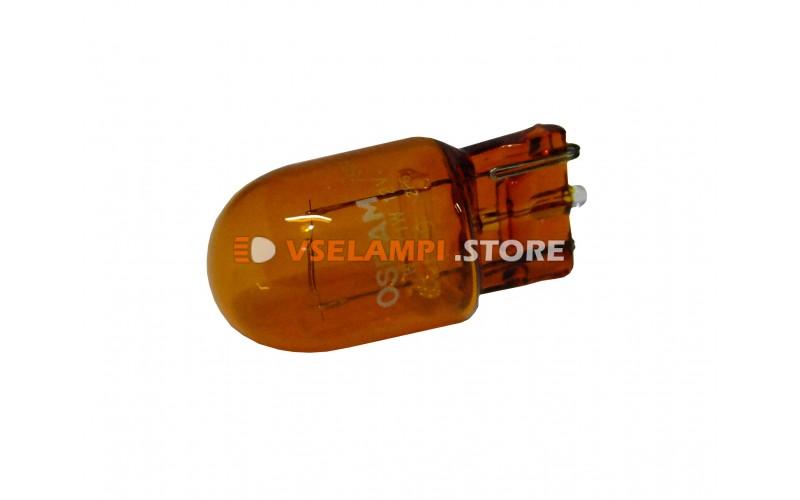 Галогенная лампа OSRAM 21w 12v WX3X16D оранж. 7504