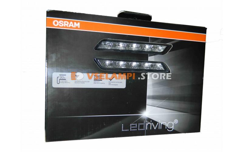 Дневные ходовые огни (ДХО) OSRAM 12v LEDDRL301 5LED 5200K