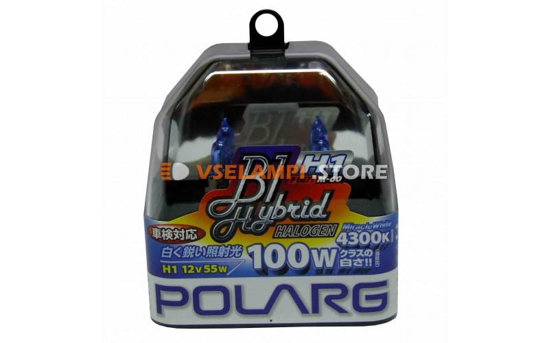 Галогенные лампы POLARG - B1 Hybrid комплект 2шт. - цоколь H1