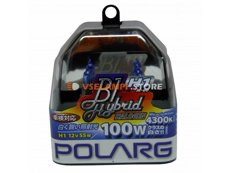 Галогенные лампы POLARG - B1 Hybrid комплект 2шт. - цоколь H4
