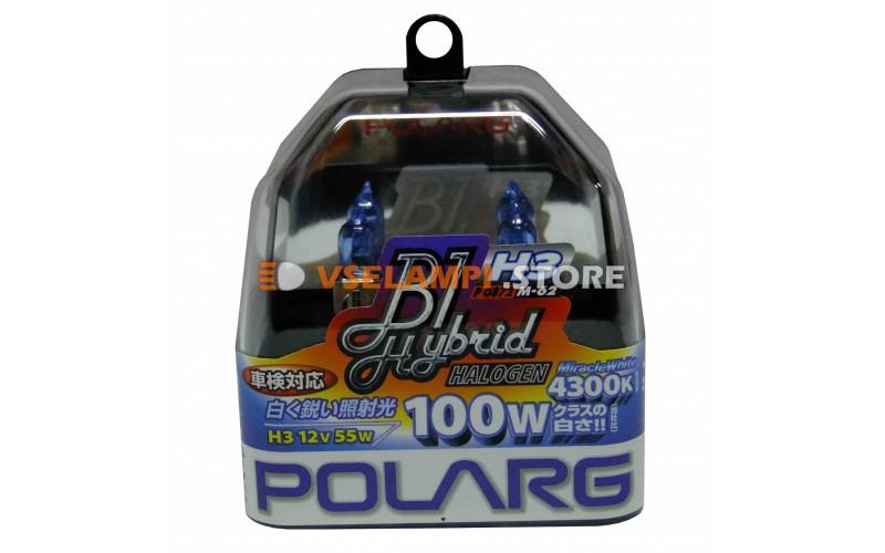 Галогенные лампы POLARG - B1 Hybrid комплект 2шт. - цоколь H3