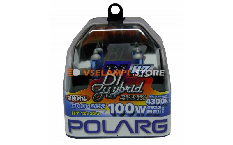 Галогенные лампы POLARG - B1 Hybrid комплект 2шт. - цоколь H7