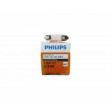 Галогенная лампа PHILIPS C5W 12V-5W (SV8,5-35/11) 12844CP