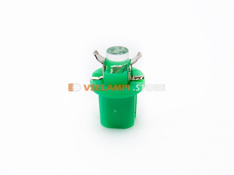 Светодиод 12v BAX8.5D EURO 1LED ВДО микрушка с патроном