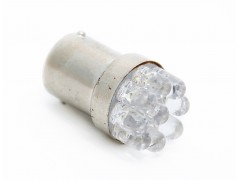 Светодиод 12v T25 9LED белый