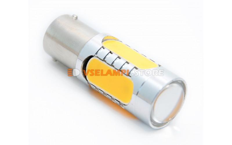 Светодиод 12vT25 5G 1 конт. - опция желтый