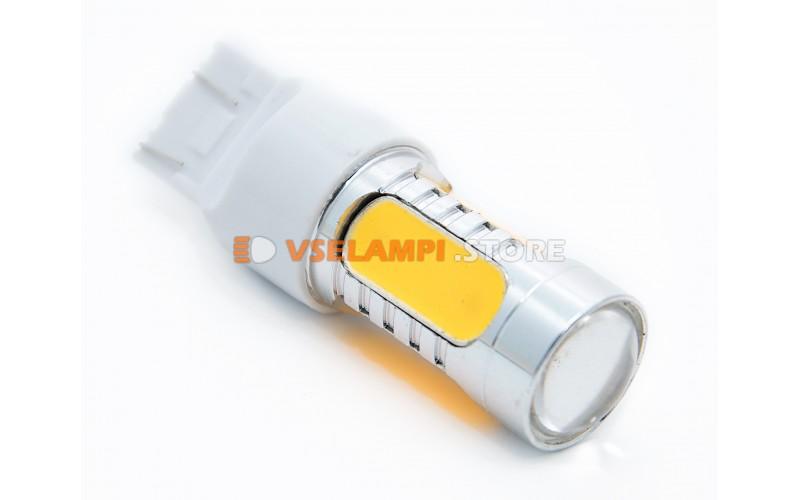 Светодиод 12vT20/5 б/ц 5G 2-х конт. - опция желтый