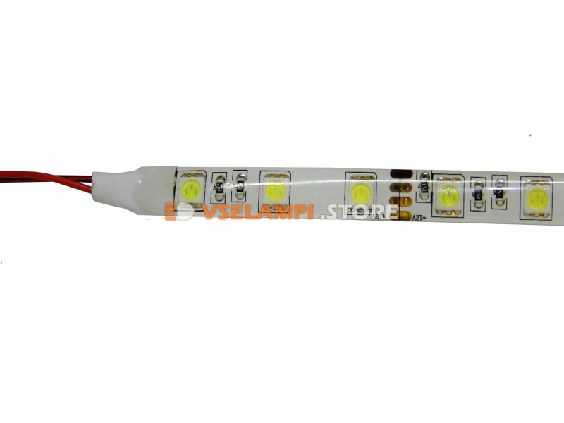 Светодиодная лента 5050 60ch 12v б/ф (1м) - цвет свечения зелёный