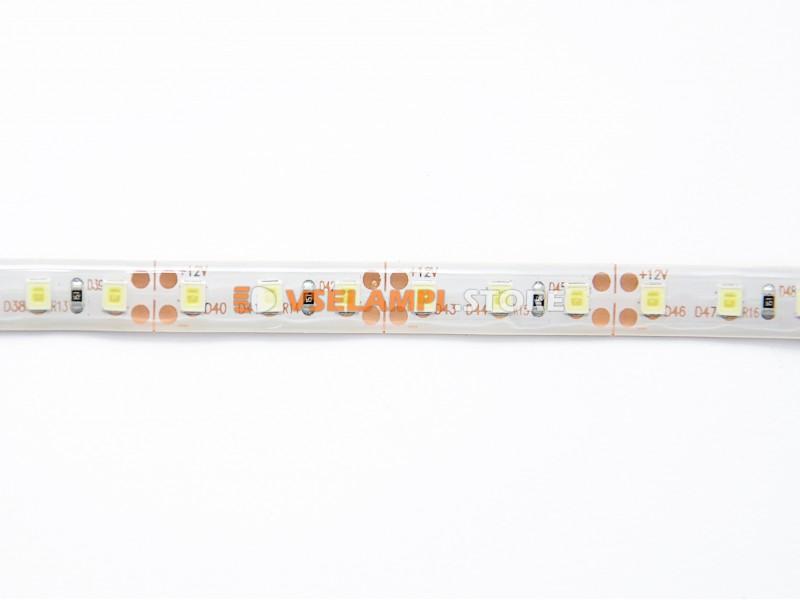 Светодиодная лента 3528 120ch 12v б/ф (1м) - цвет свечения желтый