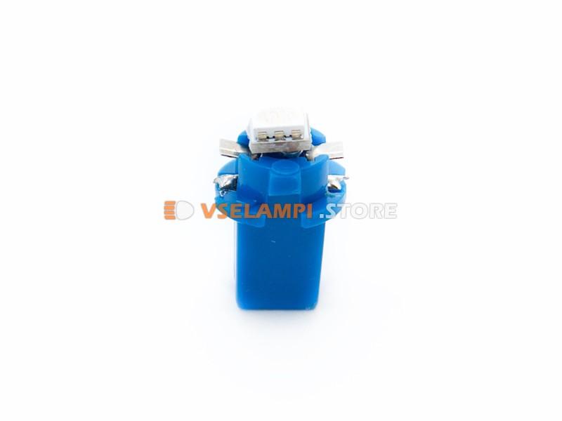 Светодиод 12v BAX8.3D 1SMD 3chip микрушка с патроном