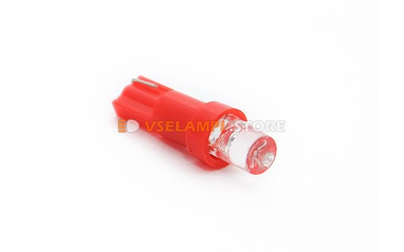 Светодиод 24vT5 1LED микрушка - опция красный