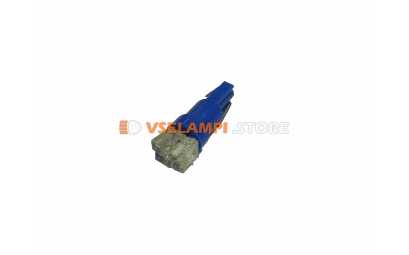Светодиод 24vT5 3LED микрушка - цвет свечения синий